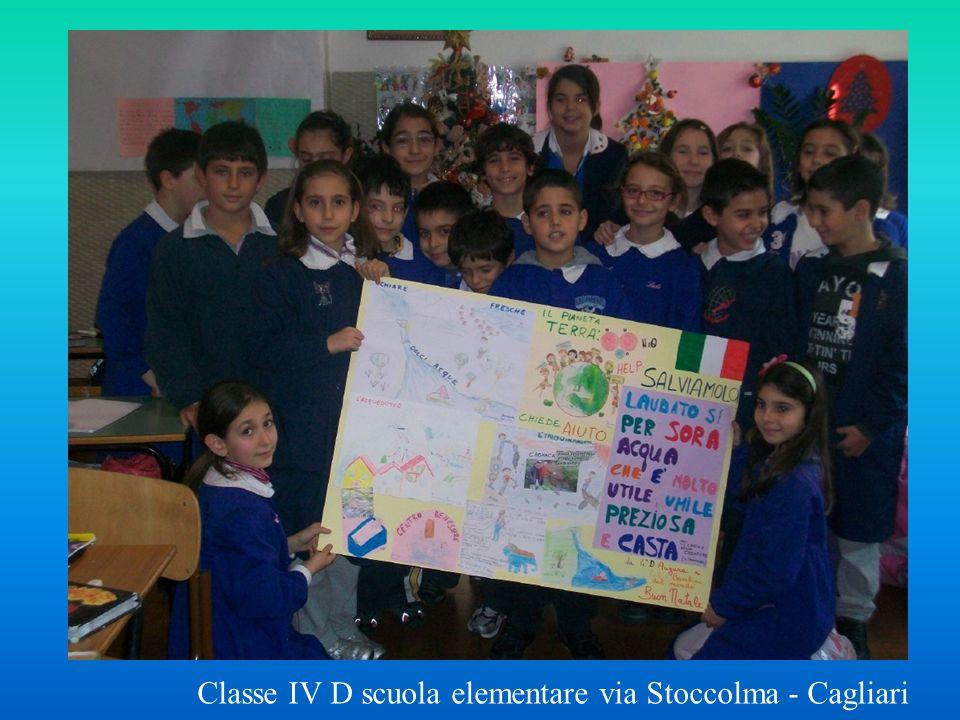 Classe IV D scuola elementare via Stoccolma - Cagliari