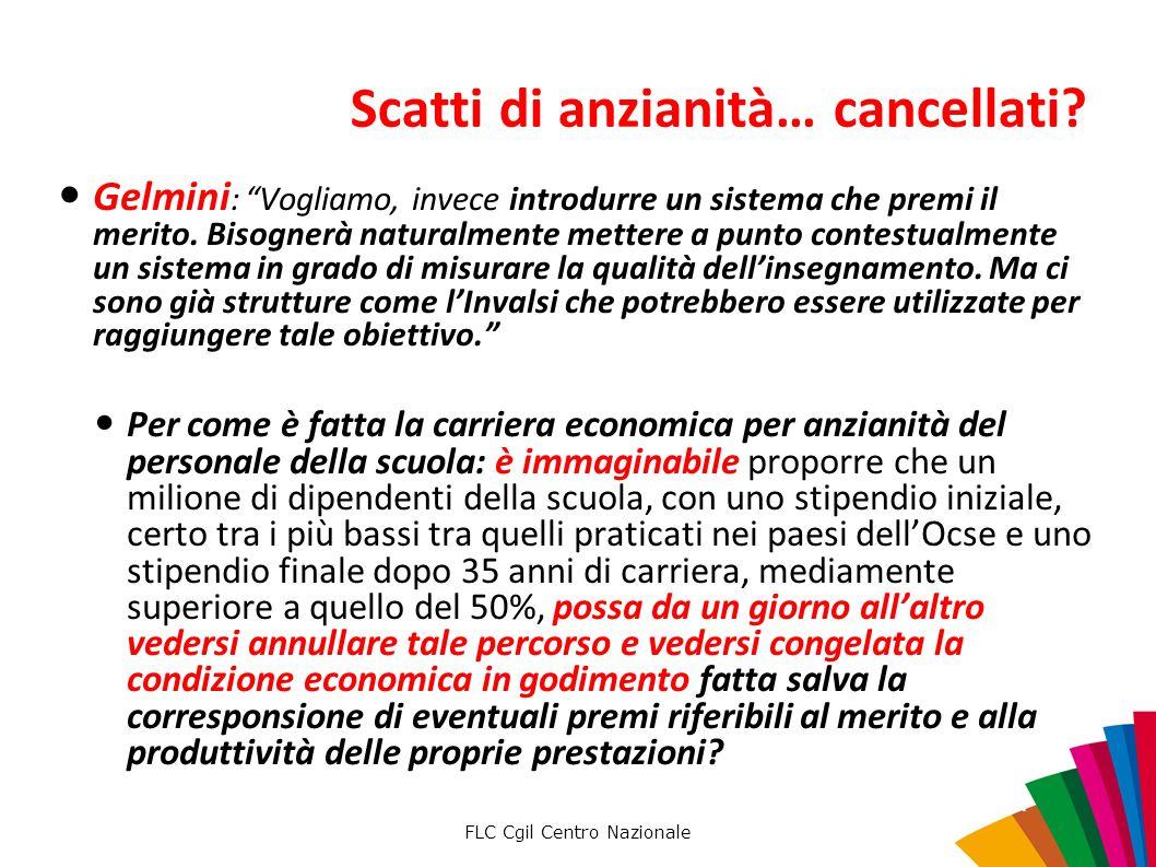 FLC Cgil Centro Nazionale Scatti di anzianità… cancellati.