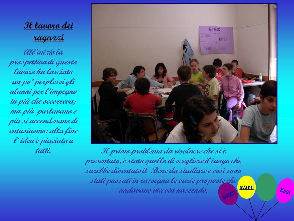 Il lavoro dei ragazzi Allinizio la prospettiva di questo lavoro ha lasciato un po perplessi gli alunni per limpegno in più che occorreva; ma più parla