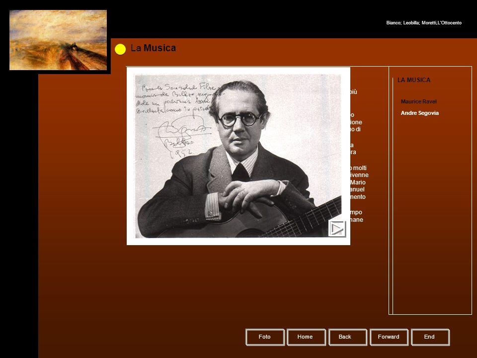 HomeBack Forward Foto La Musica LA MUSICA Maurice Ravel Andre Segovia Andrés Segovia (Linares, 28 febbraio 1893 – Madrid, 3 giugno 1987) è stato un ch