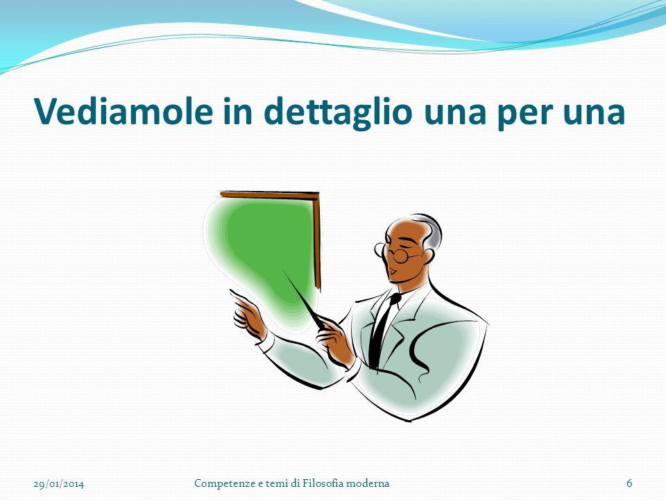 A. Competenza dialogica 1. Collaborare alle discussioni; 2. Tradurre le asserzioni in questioni; 3. Utilizzare riferimenti ai testi filosofici per sos