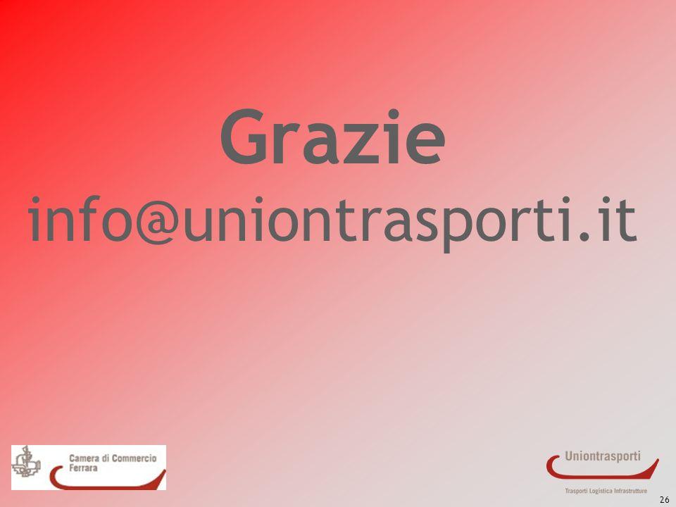 26 Grazie info@uniontrasporti.it