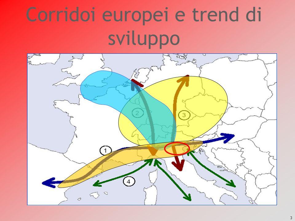 3 Corridoi europei e trend di sviluppo
