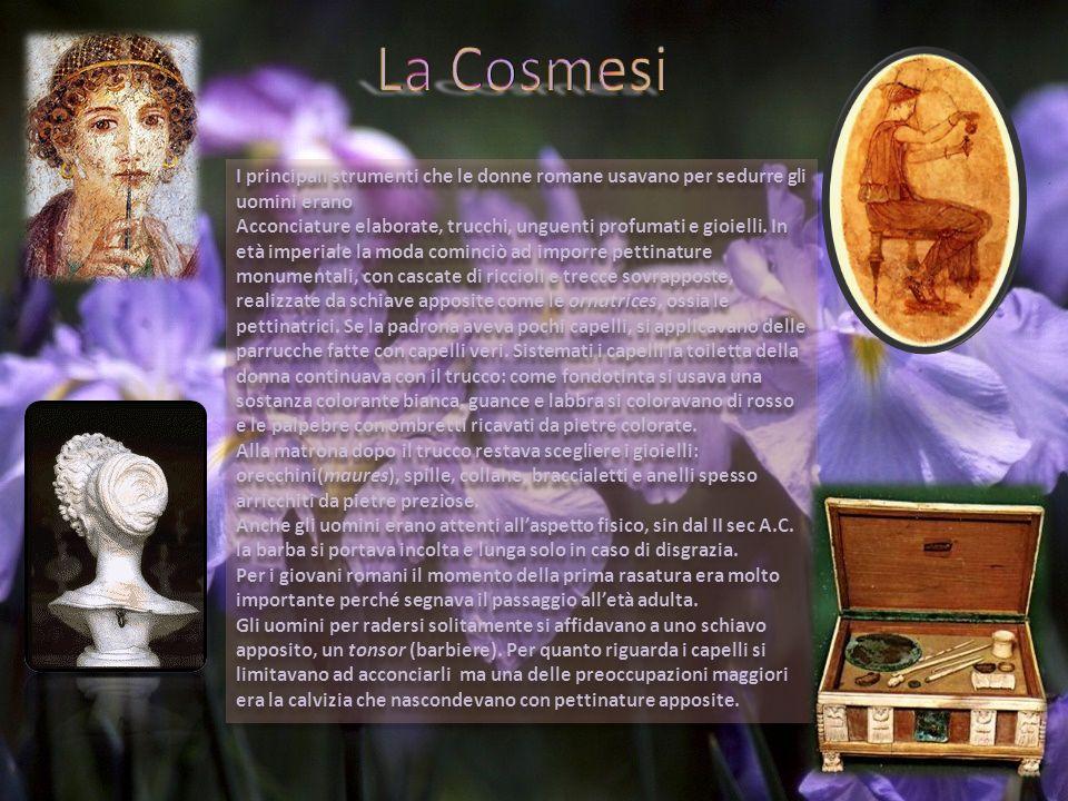 Per i Romani lo scopo del matrimonio era garantire una discendenza alla famiglia.