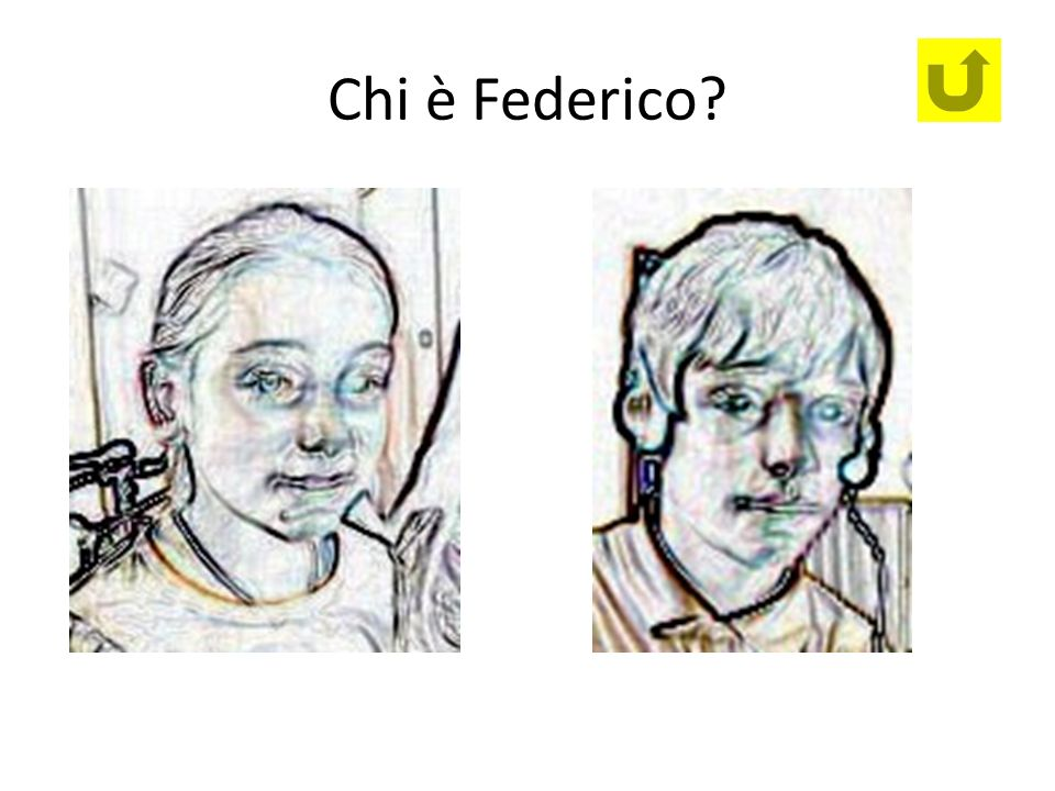 Chi è Federico