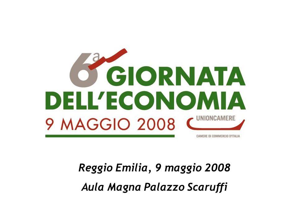 Reggio Emilia, 9 maggio 2008 Aula Magna Palazzo Scaruffi