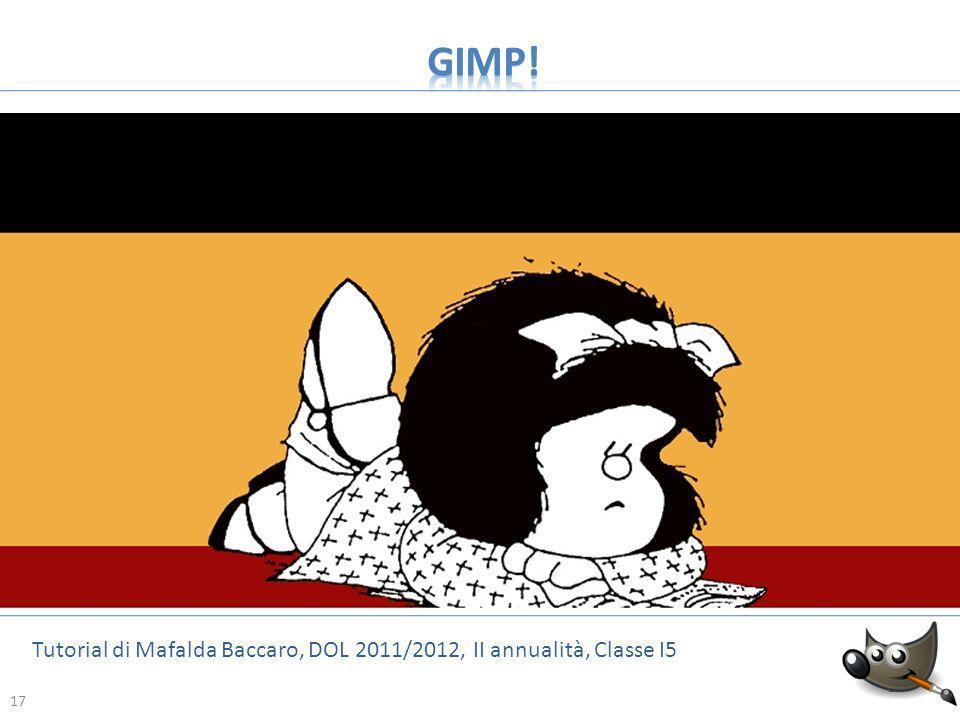 17 Tutorial di Mafalda Baccaro, DOL 2011/2012, II annualità, Classe I5 17