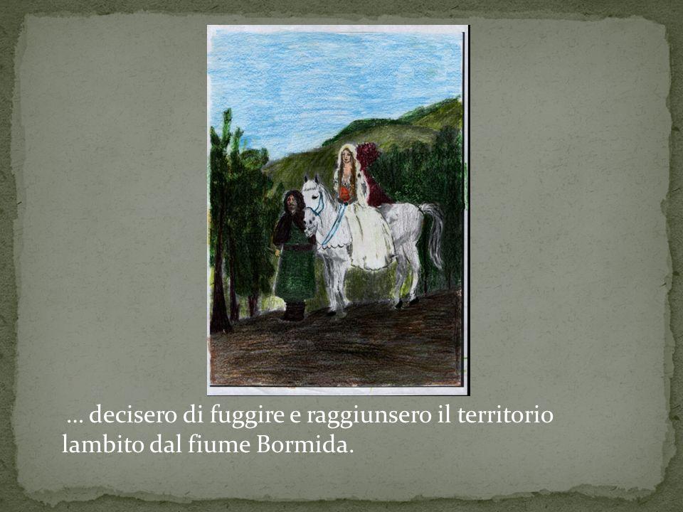Aleramo e la sua dolce Adelasia vivevano del loro amore e di pochi sussidi in una grotta naturale nei pressi di Spigno.