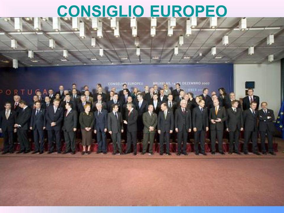 CONSIGLIO EUROPEO Il Consiglio europeo, creato nel 1974 e istituzionalizzato nel 1986 dall Atto unico europeo, riunisce i capi di Stato e di governo degli Stati membri dell Unione europea.
