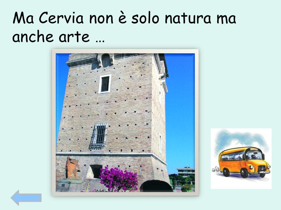 Ma Cervia non è solo natura ma anche arte …