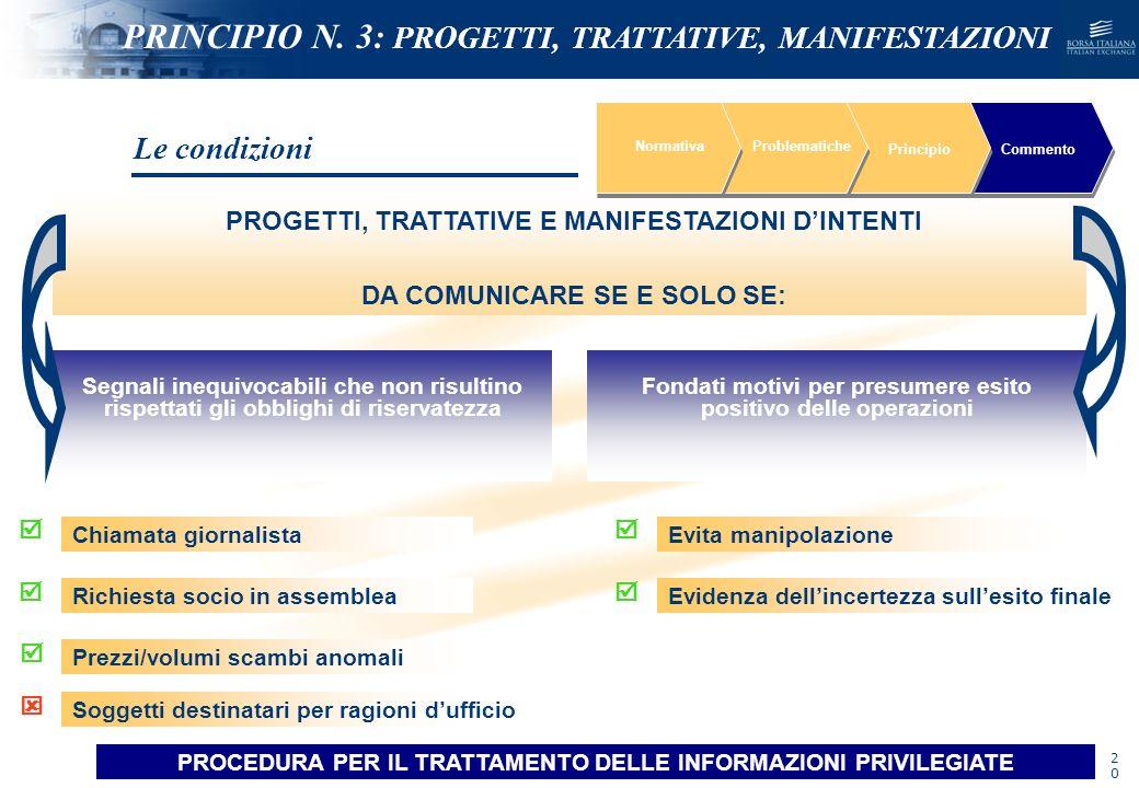 NOMEFILE_DATA_DIPARTIMENTO NormativaProblematiche PrincipioCommento Segnali inequivocabili che non risultino rispettati gli obblighi di riservatezza F