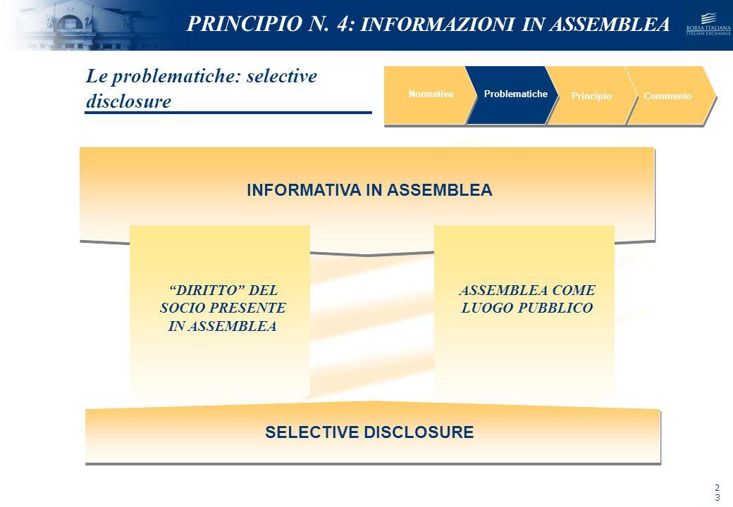 NOMEFILE_DATA_DIPARTIMENTO NormativaProblematiche PrincipioCommento INFORMATIVA IN ASSEMBLEA ASSEMBLEA COME LUOGO PUBBLICO DIRITTO DEL SOCIO PRESENTE