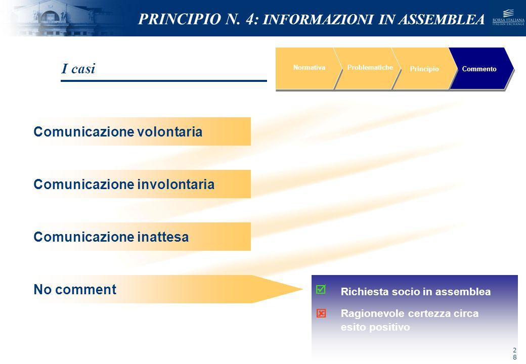 NOMEFILE_DATA_DIPARTIMENTO NormativaProblematiche PrincipioCommento Segnali inequivocabili che non risultino rispettati gli obblighi di riservatezza C