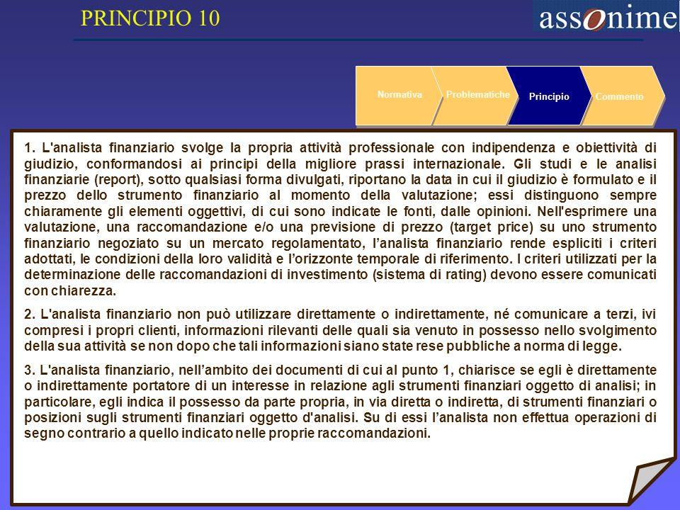 25 NormativaProblematiche PrincipioCommento 1.