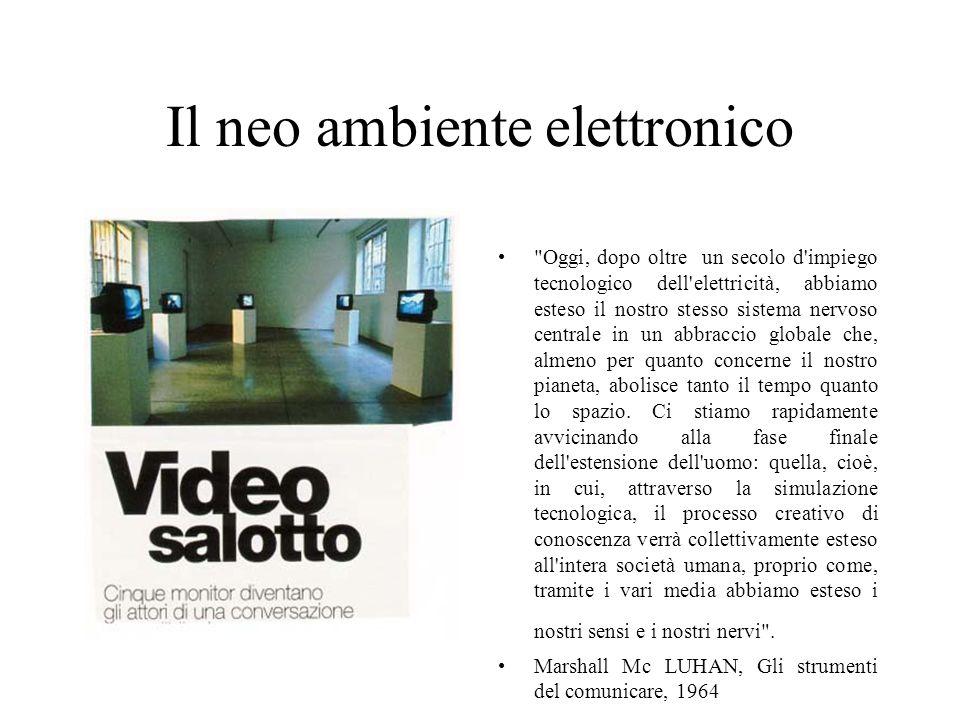 Il neo ambiente elettronico
