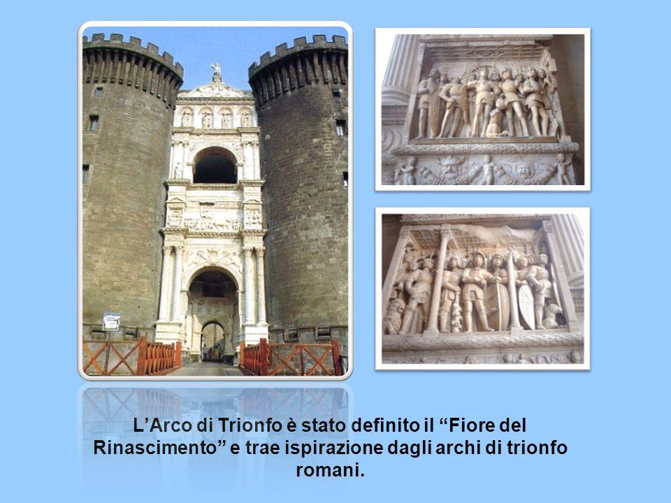 LArco di Trionfo è stato definito il Fiore del Rinascimento e trae ispirazione dagli archi di trionfo romani.