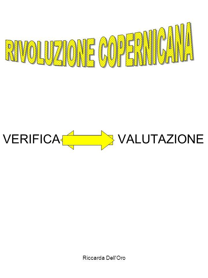 Riccarda Dell'Oro VERIFICA VALUTAZIONE