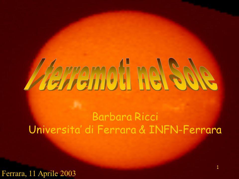 1 Barbara Ricci Universita di Ferrara & INFN-Ferrara Ferrara, 11 Aprile 2003