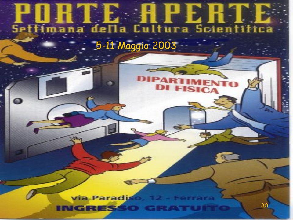 30 5-11 Maggio 2003
