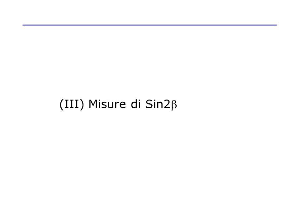 (III) Misure di Sin2