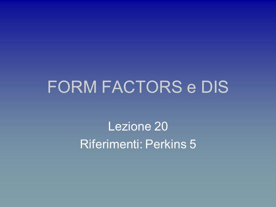 Analisi dei fattori di forma elettromagnetici del nucleone:cosa si misura i fattori di forma di Sachs vincolo cinematico dei ff di SACHS