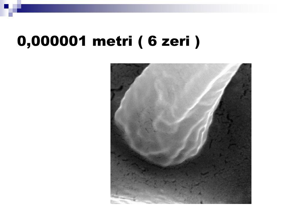 0,000001 metri ( 6 zeri )