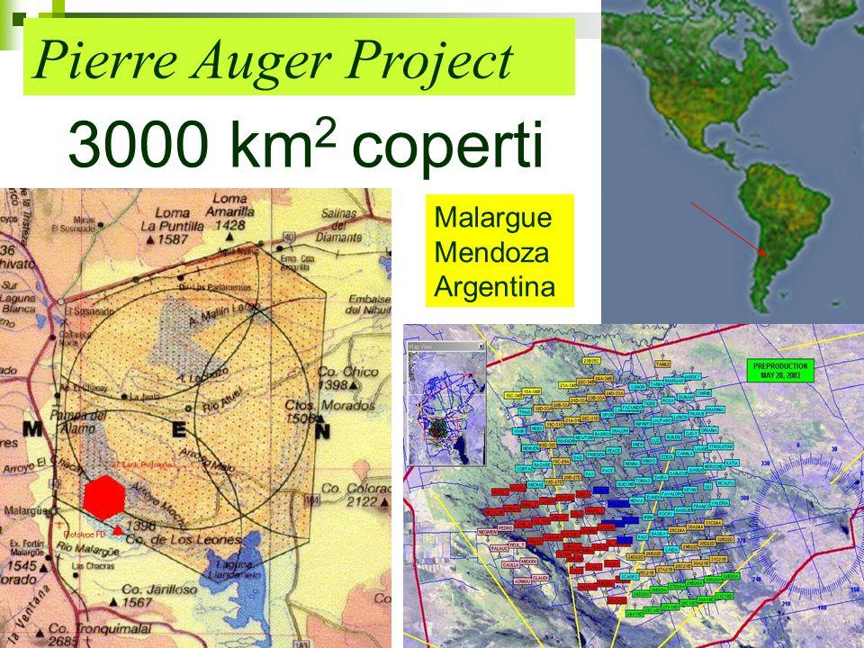 9 Pierre Auger Project 3000 km 2 coperti Malargue Mendoza Argentina