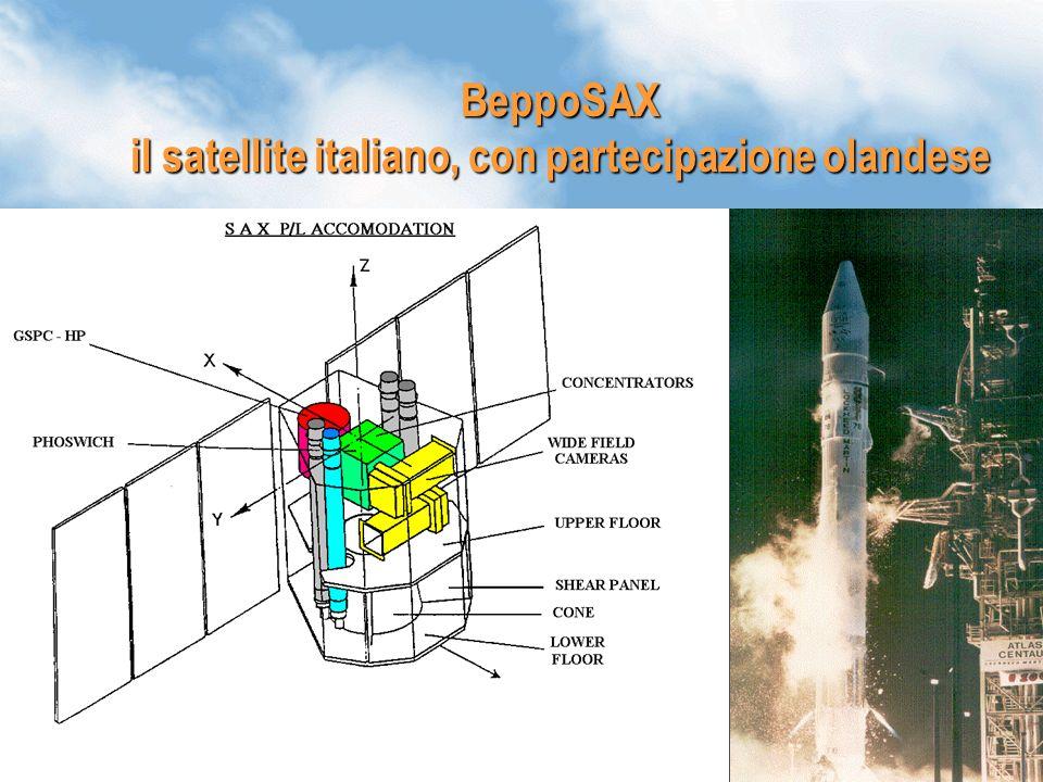 39 BeppoSAX il satellite italiano, con partecipazione olandese