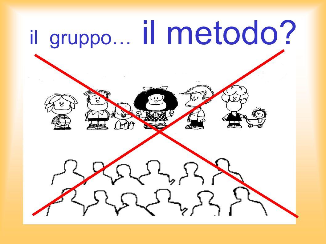 il gruppo… il metodo