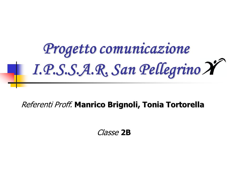 Progetto comunicazione I.P.S.S.A.R.