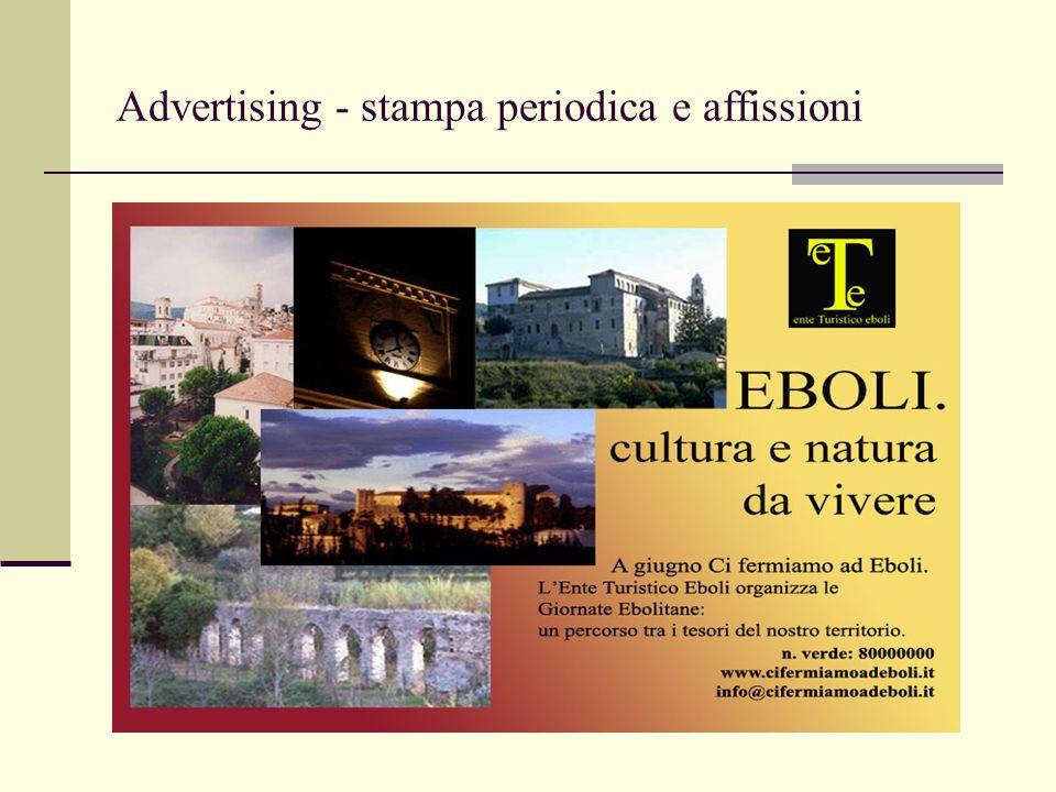 Advertising - stampa periodica e affissioni