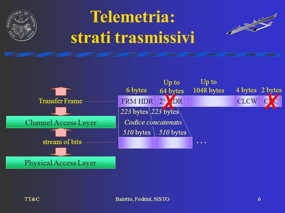 TT&CBaietto, FODRINI, Sisto7 ANALISI DEL FLUSSO DATI Sistema di telecomando e telemetria per aerei stratosferici senza pilota: definizione delle specifiche e validazione tramite simulazione