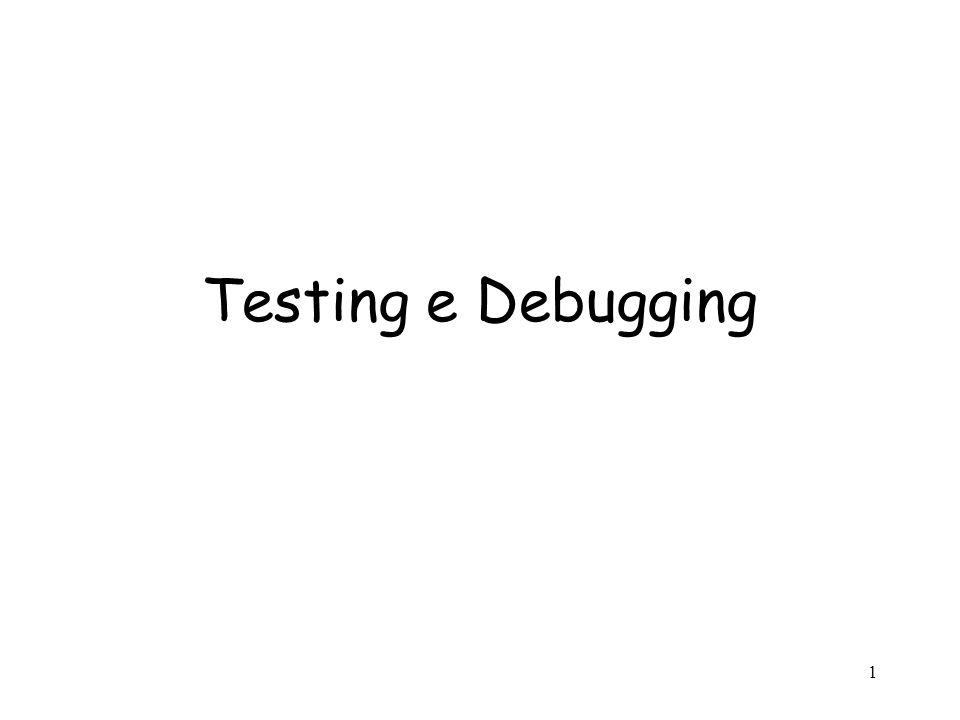 22 Esempio: Test di IntSet Testing funzionale: –valori limite: generare IntSet con 0, 1 o 2 el.