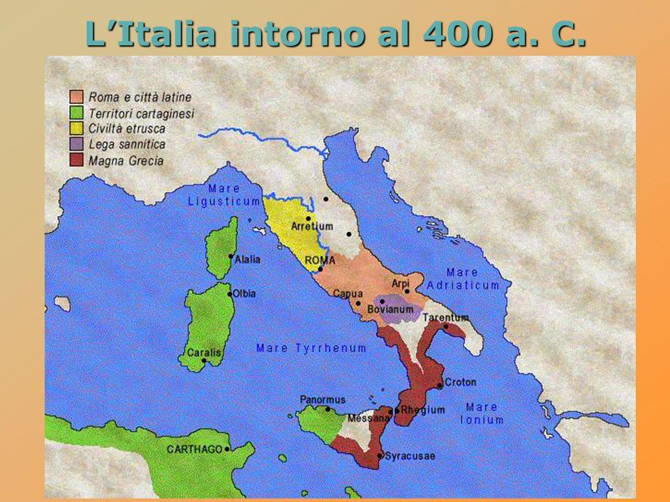 LItalia intorno al 400 a. C.