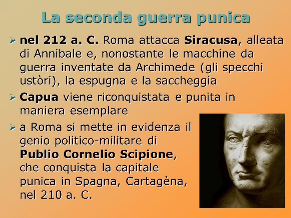La seconda guerra punica nel 212 a.C.