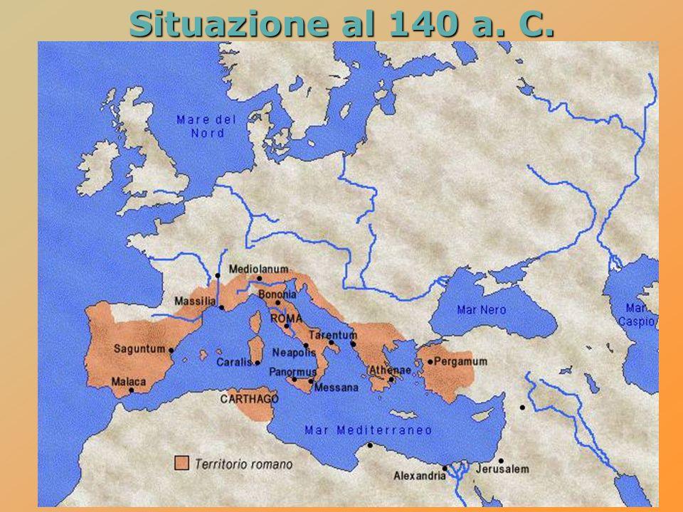 Situazione al 140 a. C.