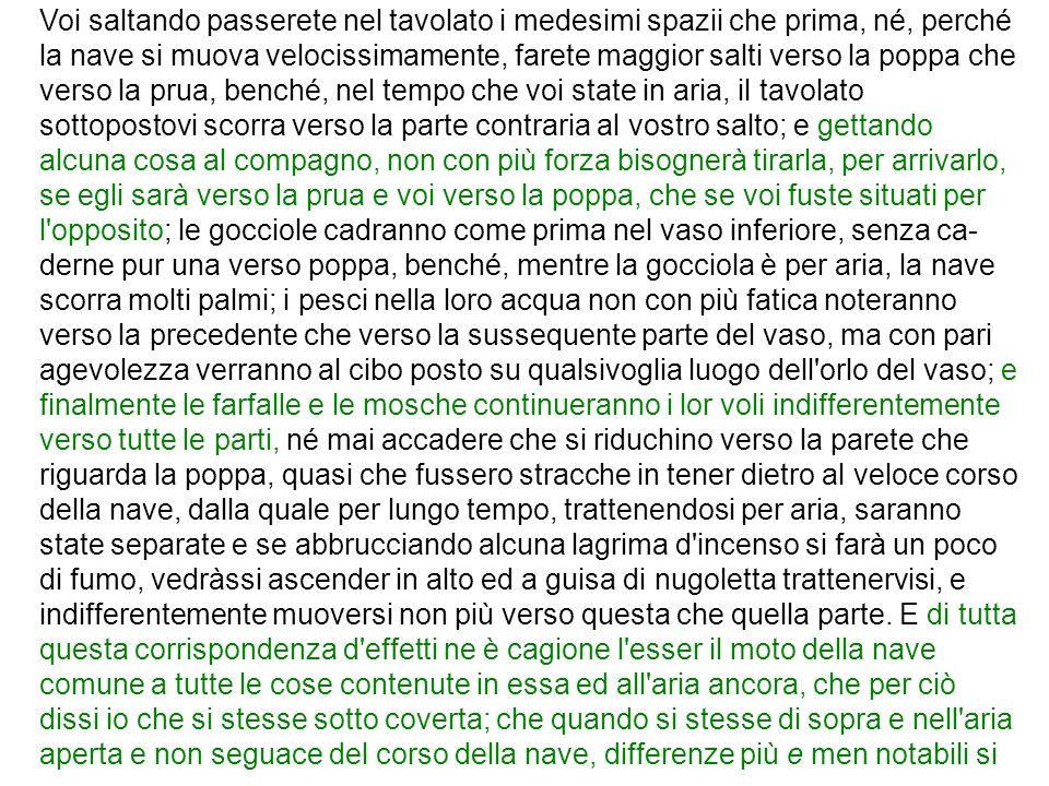Conclusioni sullesperimento MM Lesperimento è fallito.