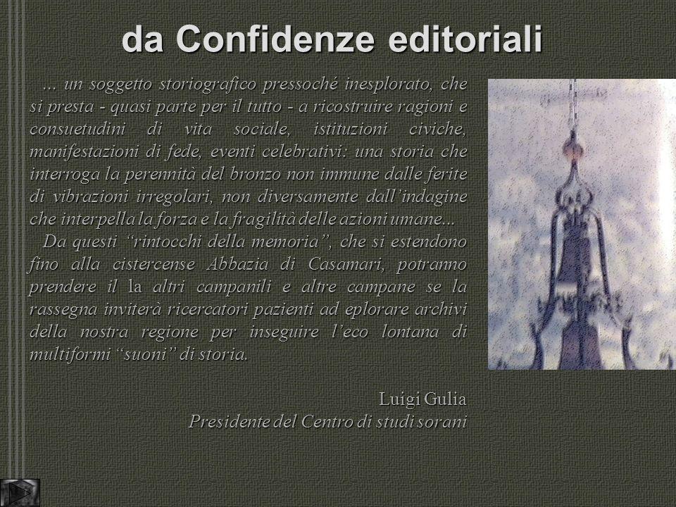 da Confidenze editoriali...