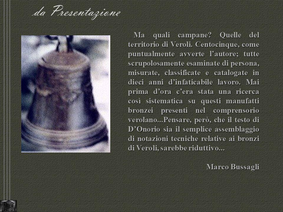 da Presentazione Ma quali campane.Quelle del territorio di Veroli.