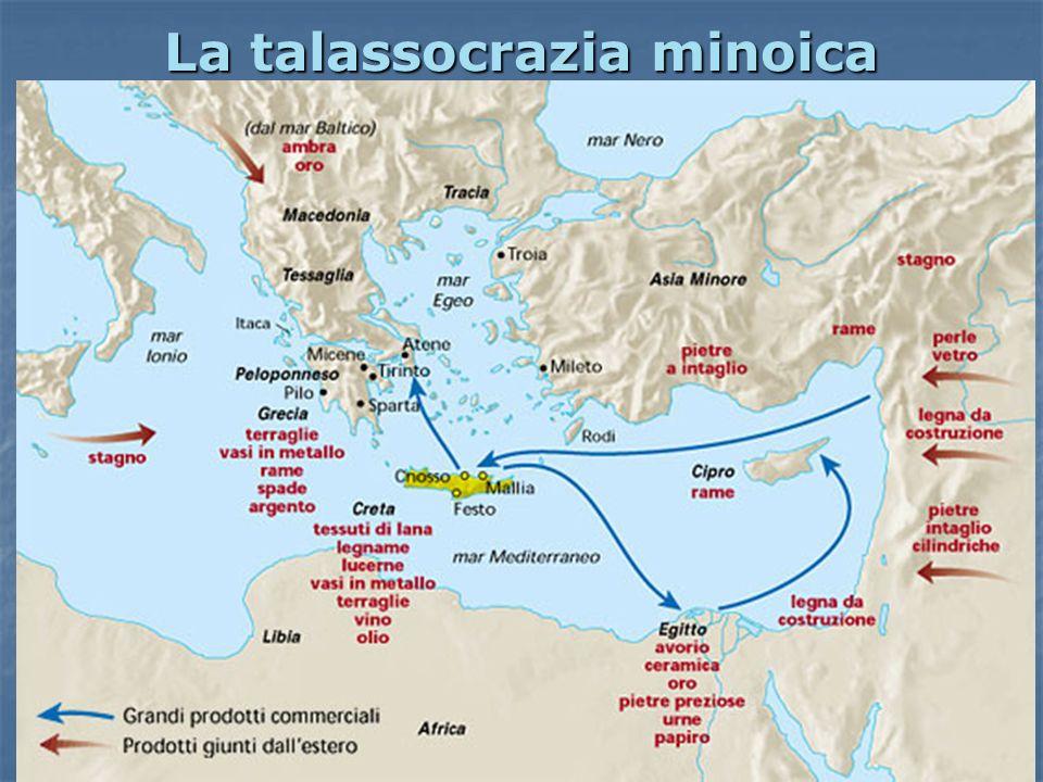 La talassocrazia minoica Così la leggenda interpreta le attività dei Cretesi: Così la leggenda interpreta le attività dei Cretesi: commercianti per ec