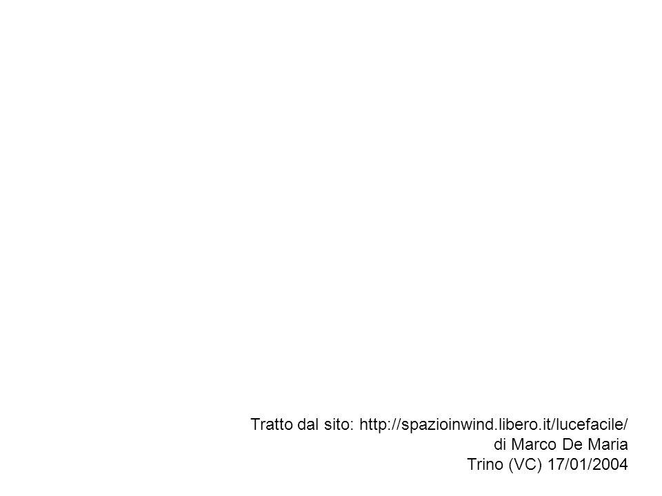 Tratto dal sito: http://spazioinwind.libero.it/lucefacile/ di Marco De Maria Trino (VC) 17/01/2004