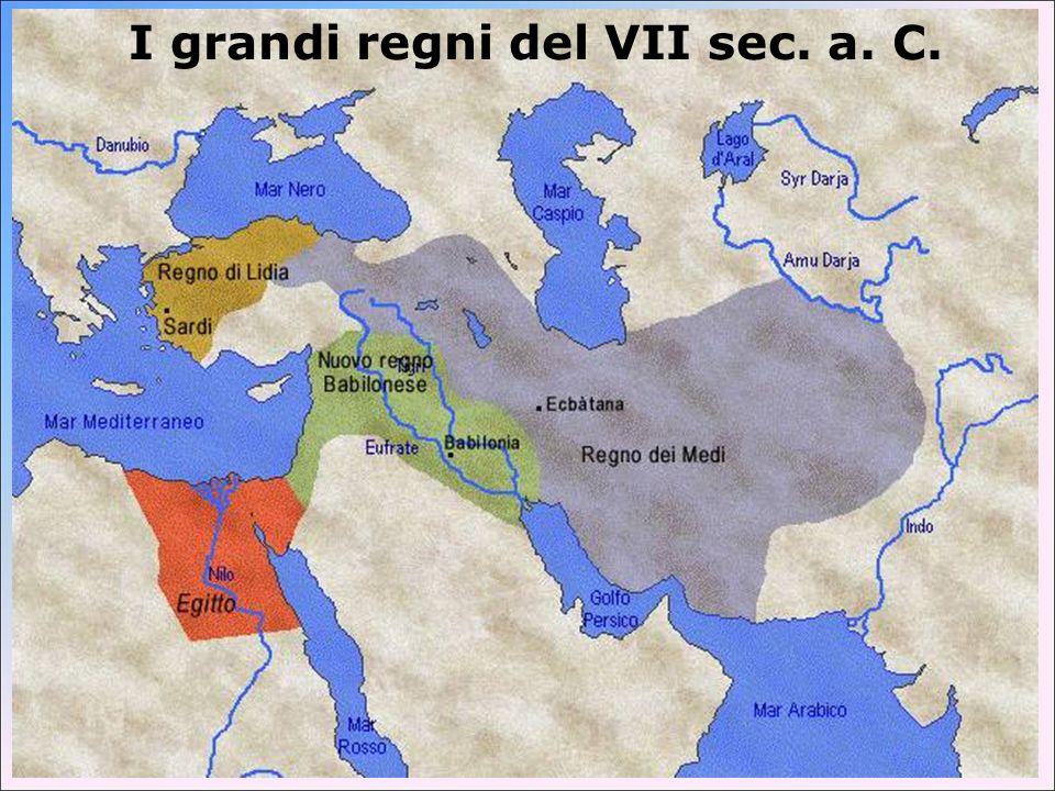 Il passaggio dai Medi ai Persiani Ciassarre (625-585 a.