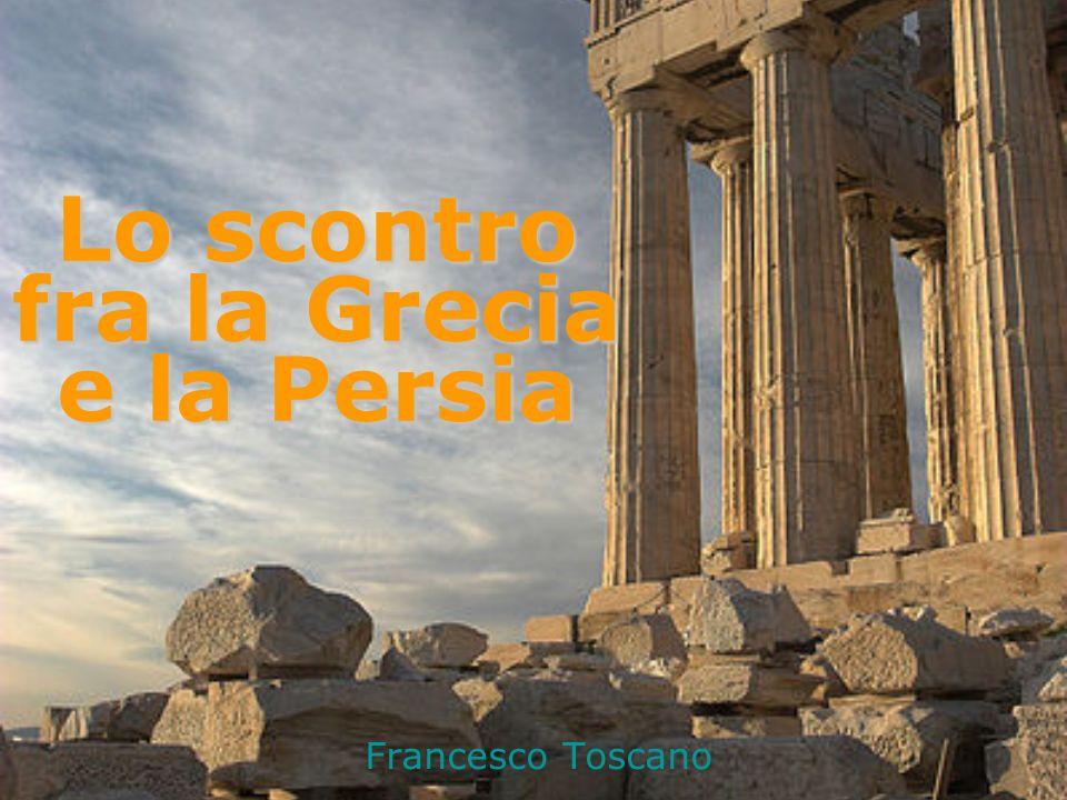 Francesco Toscano Lo scontro fra la Grecia e la Persia