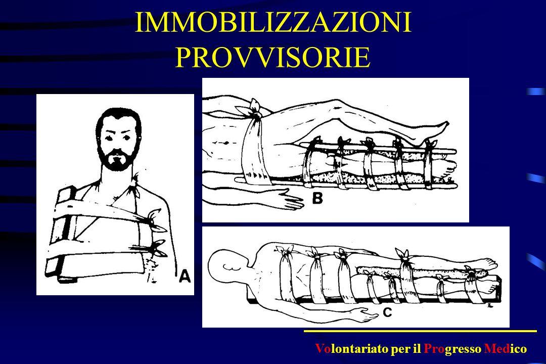 COSA FARE Immobilizzazione immediata Bloccare le eventuali emorragie Tenere il paziente al caldo Se possibile attendere larrivo del 118 Ospedalizzare