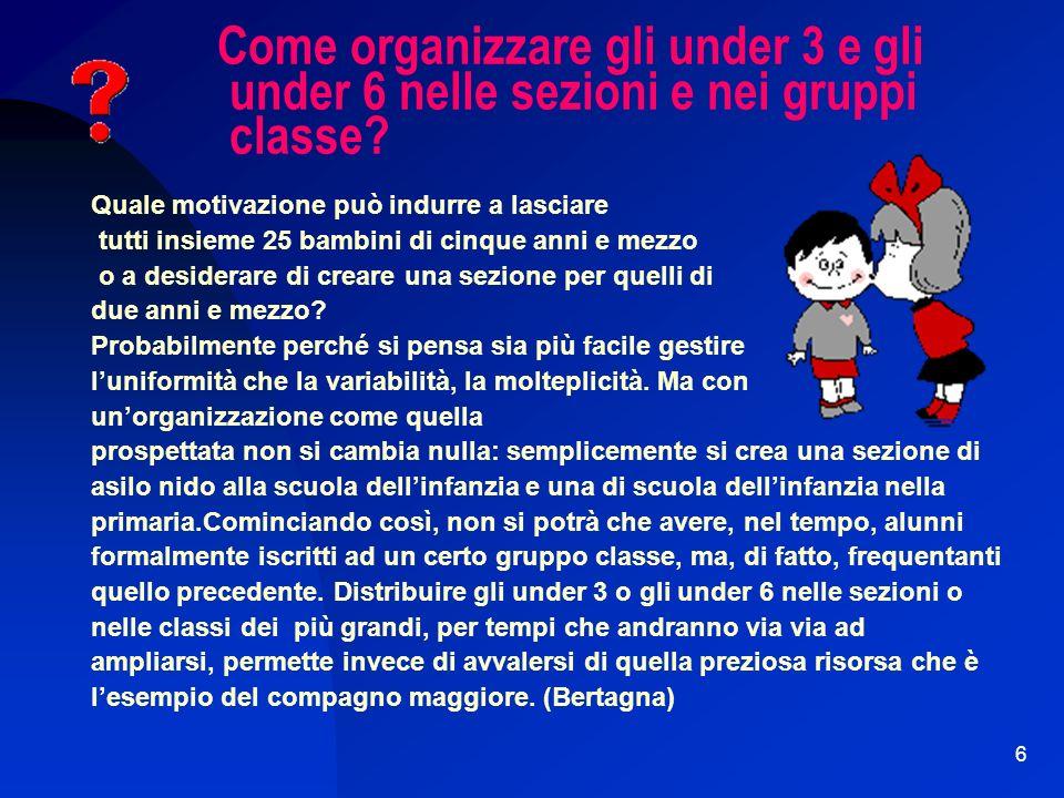 16 E possibile organizzare in modo adeguato e cooperativo fra i vari soggetti educativi lingresso di un bambino di 5 anni nella scuola primaria.