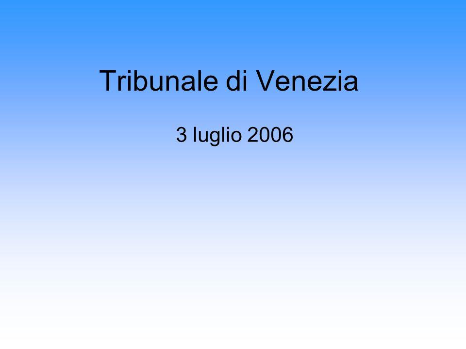 Tribunale di Venezia 3 luglio 2006