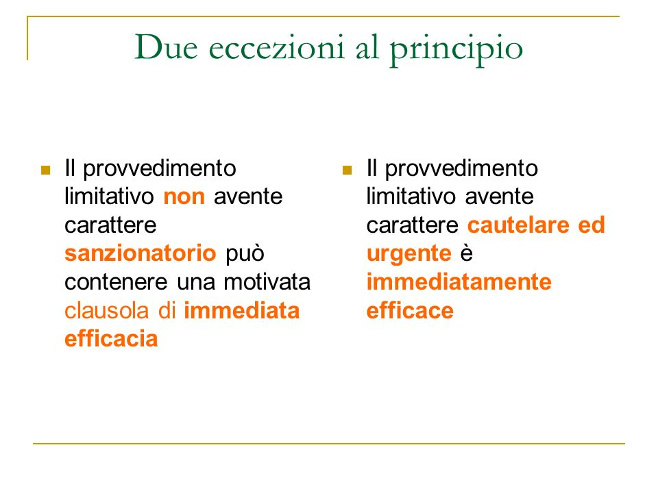 Art.21-quater della legge n.