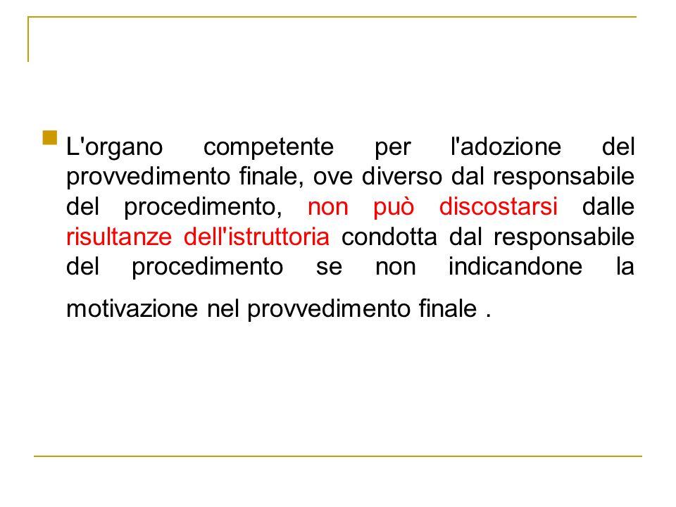 La conferenza di servizi è un modello di istruttoria orale (art.