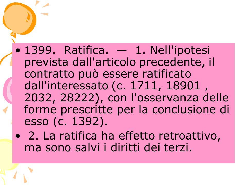 1399. Ratifica. 1.