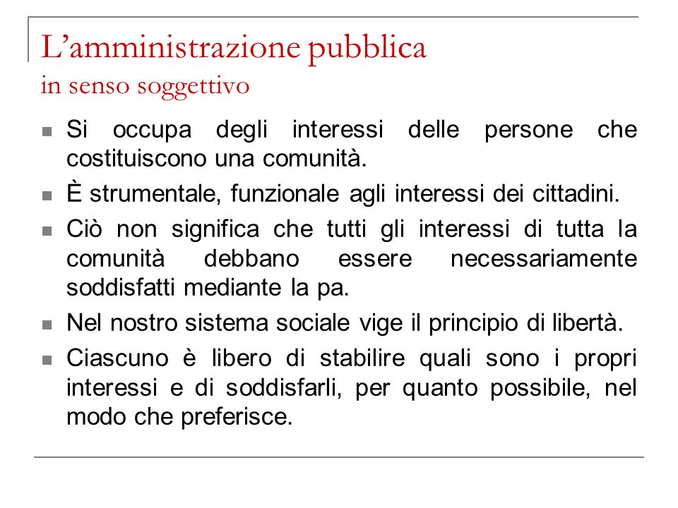 Attività di prestazione Nonostante la Costituzione non dedichi ai servizi pubblici norme specifiche (a parte la questione dellart.